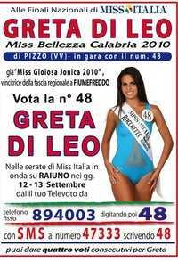 Una napitina a Miss Italia