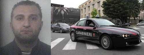 I carabinieri arrestano Rocco Tropeano