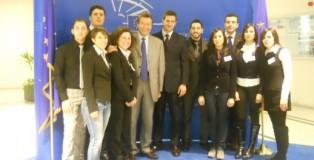 I laureati_con_De_Rose_e_Baldassarre_al_Parlamento_Europeo