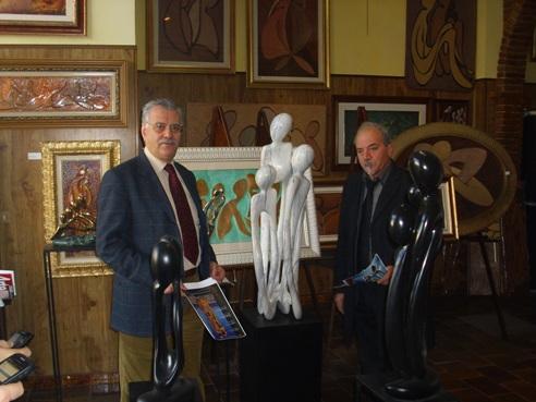 Il consigliere regionale Sulla (Pd) incontra lo scultore e pittore Cersosimo