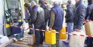 benzina fila