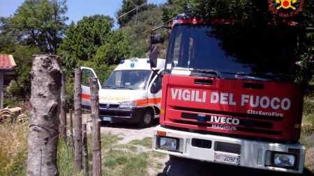 Tragedia a Galatro: agricoltore muore sul lavoro L'uomo è caduto con un escavatore in un dirupo