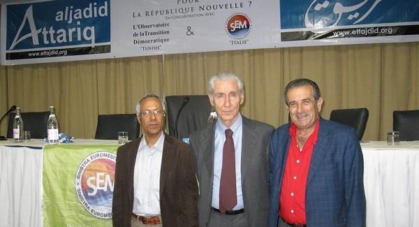 Abdelkarim Hannachi candidato per il parlamento tunisino Si vota per eleggere i rappresentanti dopo la rivoluzione