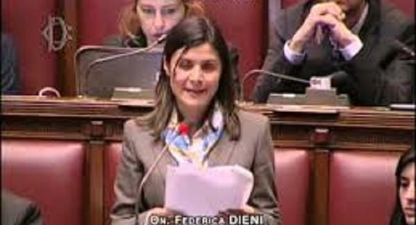 """Frana a Pellegrina, interviene deputata M5s Dieni """"Il ministero metta fine all'isolamento della zona"""""""