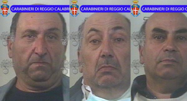 San Roberto: sequestrato un vero e proprio arsenale I frateli Domenico, Giuseppe e Vincenzo D'Agostino custodivano in campagna due fucili, 1500 munizioni e 7 chili di polvere da sparo