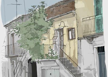 I vicoli di Taurianova Gli scorci della città attraverso i disegni di Francesco Fontana