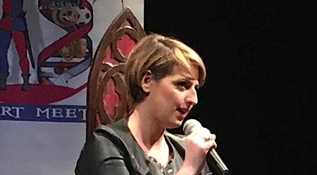 """A Dalila Nesci il premio nazionale """"Roma Art Meeting"""" L'esponente 5 stelle ha dedicato il riconoscimento all'eroina antimafia Lea Garofalo"""