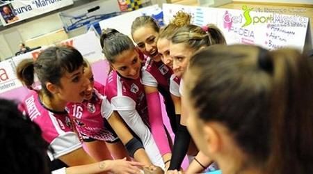 Volley, Golem vince 3 a 1 in casa di Caserta Agganciati il settimo posto in classifica