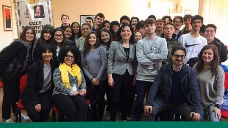 """Arpacal con gli studenti del """"Galilei"""" di Lamezia Terme Iniziativa nell'ambito del progetto di alternanza scuola-lavoro"""