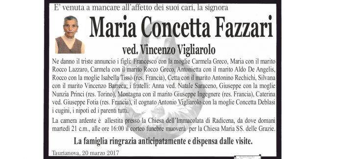 Taurianova, si è spenta Maria Concetta Fazzari I funerali si svolgeranno domani alle 16