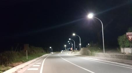 Strada Girifalco-Borgia, nuova illuminazione Resa più sicura l'importante arteria