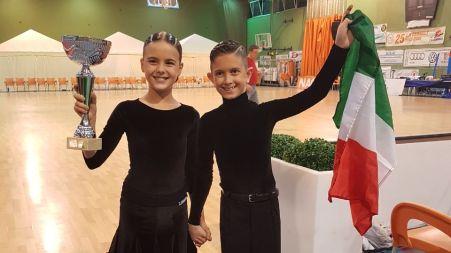 Siria Campagner e Antonio Stillante primi in Spagna Al D.O International Championship nella categoria Juveniles