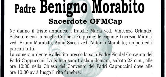 Taurianova, si è spento padre Benigno Morabito I funerali si terranno domani, alle 10.30