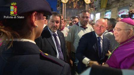 Festa Madonna Reggio, efficaci dispositivi di sicurezza Ottima riuscita dei servizi di ordine in occasione dei festeggiamenti religiosi e civili