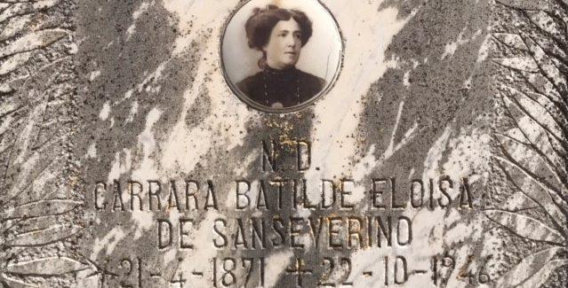 Batilde Eloisa CARRARA de' Sanseverino (1871-1946) Continua la Spoon River Taurianovese del blogger Giovanni Cardona