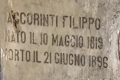 don Filippo ACCORINTI Altro personaggio de La Spoon River taurianovese del blogger Giovanni Cardona