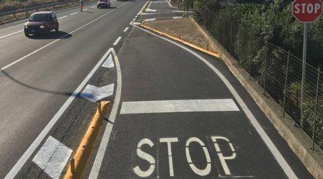 Calabria, riaperta la rampa dello svincolo di Rossano Disposto un adeguamento generale della segnaletica orizzontale e verticale
