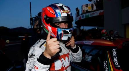 Iaquinta prova a stupire a Vallelunga Penultimo weekend di Carrera Cup Italia per il driver calabrese dopo l'exploit al Mugello