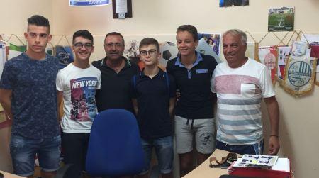 Atleti Promosport a Torino Sono 4 gli atleti biancoazzurri, appartenenti alla categoria allievi e giovanissimi, che sono stati selezionati dal Centro Formazione Giovani Calciatori