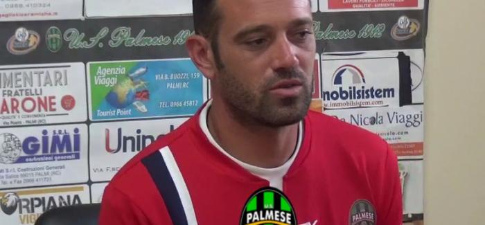 La Palmese esonera il tecnico Alessandro Pellicori Dopo la sconfitta con la vibonese per 3 a 1