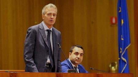 Si è insediato il consigliere regionale Gianluca Gallo Subentra al collega Giuseppe Graziano dopo la sentenza della Corte di Appello di Catanzaro