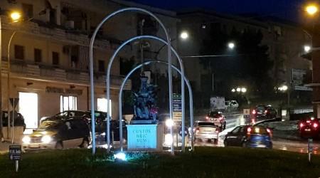 """Rosarno aderisce alla Giornata mondiale del diabete La """"Madonnina"""", storico monumento della città, illuminata di blu per sensibilizzare sulla tematica"""
