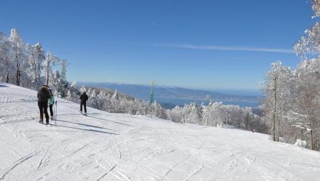 A Gambarie d'Aspromonte tutto pronto per sciare Tra 4 giorni si riaprono le piste