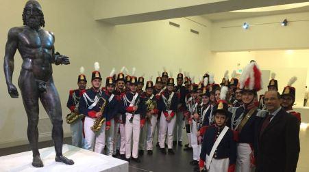 Nasce la Banda della città metropolitana di Reggio Istituita dalla Reale Accademia Filarmonica di Gerace è composta da 33 ragazzi