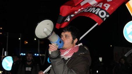 """Costantino Talia (Partito comunista) a Villa San Giovanni """"Il nostro non è un programma elettorale ma di lotta"""""""