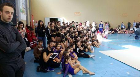 Campionato Regionale di ginnastica artistica CSEN Sono duecentocinquanta gli atleti che si sono contesi la qualificazione al Campionato Nazionale