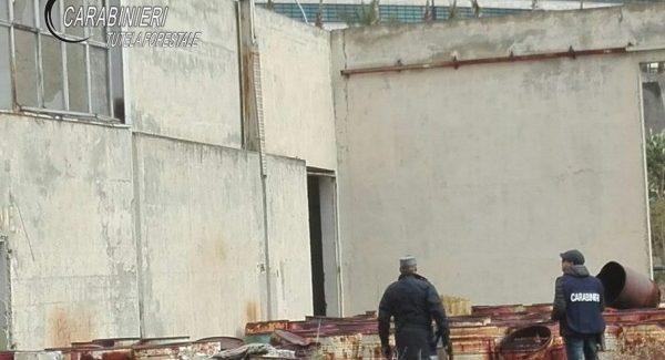 Rifiuti pericolosi, sequestrata maxi area a Reggio Calabria Intervento del Nucleo Investigativo del Gruppo Carabinieri Forestale