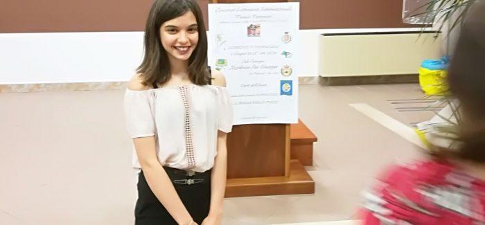 """San Sosti, concorso Letterario """"Premio Pettoruto"""" vincitrice la giovanissima coriglianese Martina Soleti"""