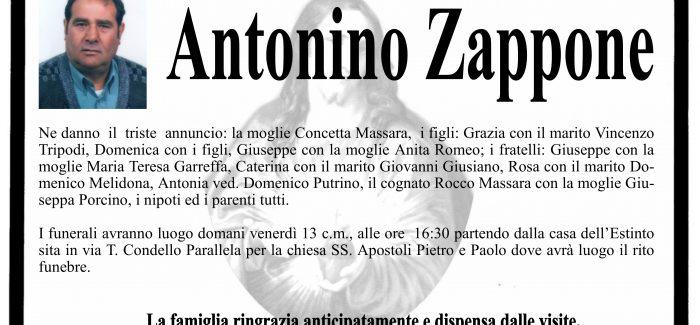 Taurianova, è venuto a mancare Antonino Zappone I funerali si svolgeranno domani alle 16.30