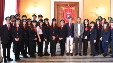 Trenitalia, 25 capitreno giurano come pubblico ufficiale Cerimonia a Palazzo San Giorgio, sede del Comune di Reggio Calabria