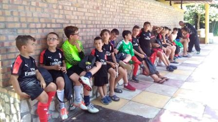 Lamezia Terme, si è concluso il Milan Junior Camp Soddisfazione per le varie attività organizzate