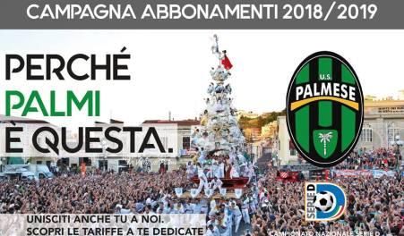 """Serie D, parte campagna abbonamenti della Palmese """"Perché Palmi è questa"""": questo lo slogan lanciato dalla società neroverde"""