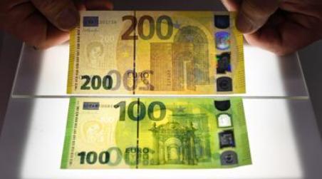 Arrivano le nuove banconote da 100 e 200 euro I due nuovi biglietti dovrebbero essere messi in circolazione a partire dal 28 maggio