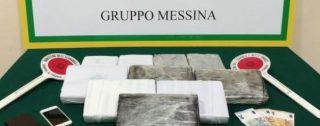 Arrestato corriere della droga calabrese: sequestrati oltre undici chili di cocaina