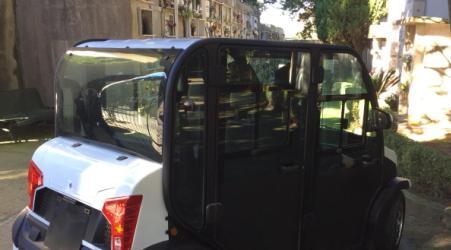 Cittanova si dota di servizio trasporto al cimitero comunale Un automezzo ad alimentazione elettrica porterà le persone anziane, i disabili ed i soggetti con difficoltà di deambulazione all'interno del perimetro cimiteriale