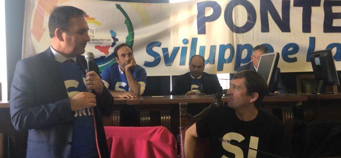 """""""Ponte Stretto? Priorità per lo sviluppo del territorio"""" E' quanto affermato da Giovanni Siclari, primo cittadino di Villa San Giovanni"""