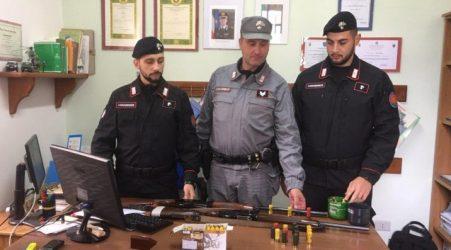 Introduzione armi in area protetta, denunciati 2 cacciatori Servizio di controllo dei Carabinieri Forestali mirato alla prevenzione del bracconaggio