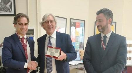 Reggio, Falcomatà in visita alla Caffe Mauro Spa Il sindaco ha incontrato i rappresentanti dell'impresa