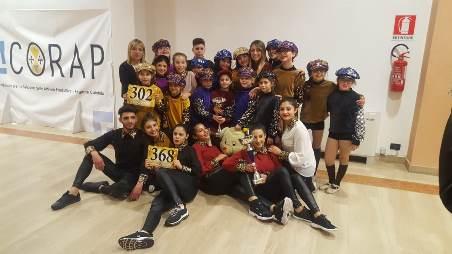 Scuola Barby's Dance ai primi posti nella categoria Fantasy Dance Al XXIII Trofeo New Hollywood Dance