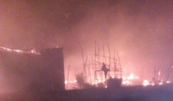 Nuovo incendio nella baraccopoli di San Ferdinando: muore un 29enne senegalese