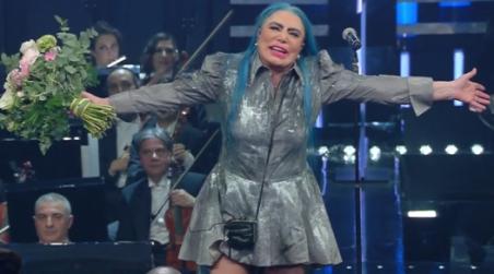 Loredana Bertè incanta 69esima edizione Festival Sanremo L'artista di Bagnara vincitrice morale della kermesse canora