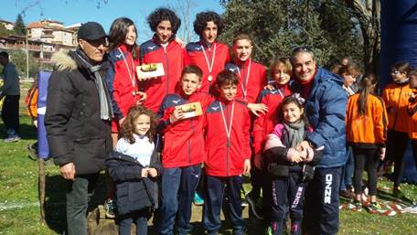 Campionati corsa campestre, doppio titolo per Atletica Gioia Tauro Grande soddisfazione da parte del loro allenatore