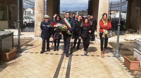 Amministrazione Polistena ricorda Mommo Tripodi Primo anniversario della scomparsa dell'ex sindaco della città
