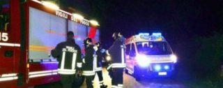 Tragico scontro tra due autovetture, muore un'anziana