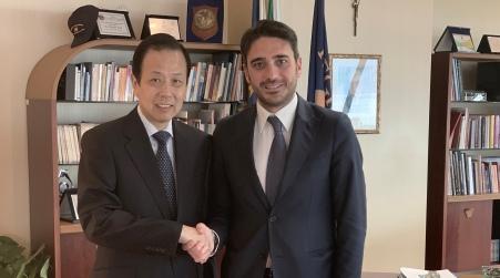 Calabria, Irto ha incontrato ambasciatore cinese in Italia Colloquio cordiale con Li Ruiyu volto a rafforzare la cooperazione tra le due Nazioni