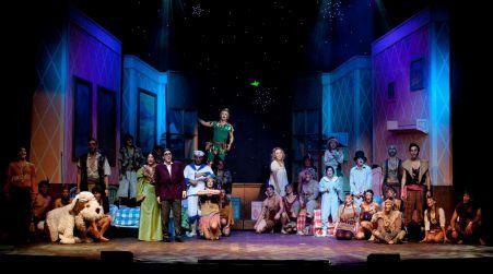 """Il musical """"Peter Pan"""" al teatro """"Rendano"""" di Cosenza Dopo il trionfo a Reggio, ultima replica del tour"""